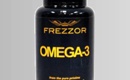 Buy FREZZOR Omega-3 Black Today